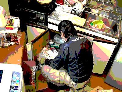 台所回りの整理